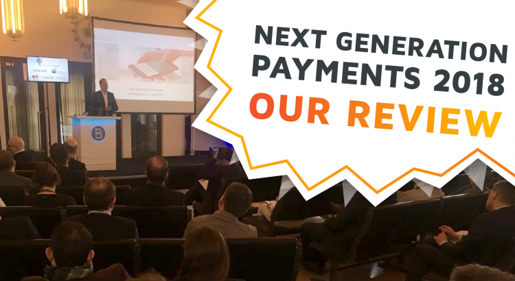 The conference room of the Next Generation Payments 2018 conference