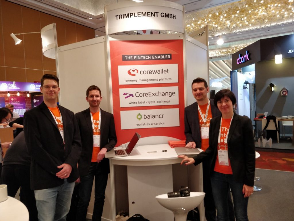 Not much space to spread the word about our products. The orange shirts proved helpful in catching attention.