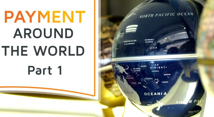 A modern globe, symbolizing the world of international payments