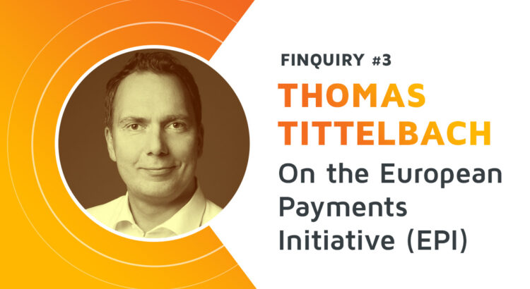 A picture of a Thomas Tittelbach, giving his opinion into the European Payments Initiative